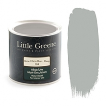Little Greene Absolute Matt Emulsion Bone China Blue Deep 184