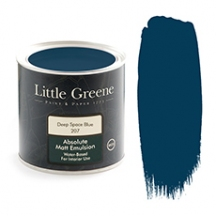 Little Greene Absolute Matt Emulsion Deep Space Blue 207