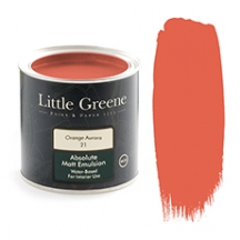 Little Greene Absolute Matt Emulsion Orange Aurora 21