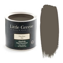 Little Greene Absolute Matt Emulsion Grey Moss 234