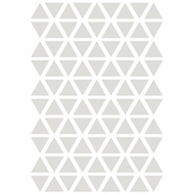 Stickers triangle coloris gris chaud
