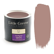 Peinture satiné Little Greene rose Blush