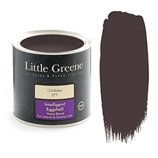 Peinture satiné rouge - Little Greene - Cordoba