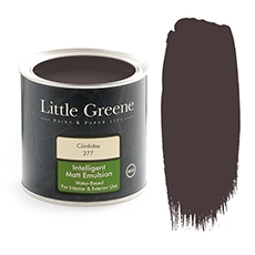 Peinture mate rouge - Little Greene - Cordoba