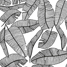 2017_FR/H0462_pp-jungle-leaves_SMIMG.jpgEchantillon papier peint feuillage tropical