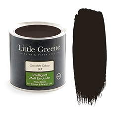 Peinture Little Greene Chocolate Colour