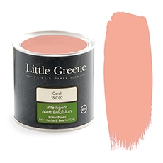 Peinture Little Greene Coral