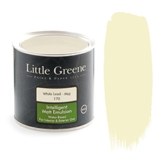 Peinture Little Greene White Lead Mid