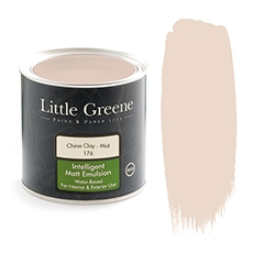 Peinture Little Greene China Clay Mid