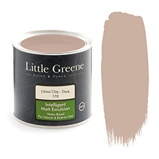 Peinture Little Greene China Clay Dark