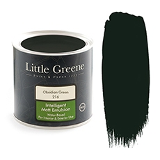 Peinture Little Greene Obsidian Green