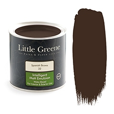Peinture Little Greene Spanish Brown