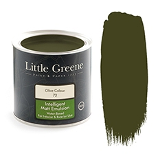 Peinture Little Greene Olive Colour