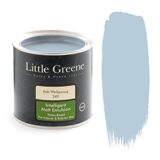 Little Greene Intelligent Matt Emulsion Pale Wedgwood 249