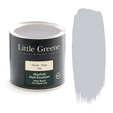 Little Greene Absolute Matt Emulsion Gauze Dark 166