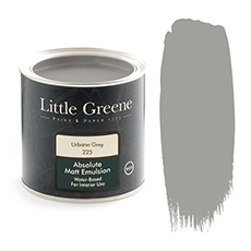 Little Greene Absolute Matt Emulsion Urbane Grey 225