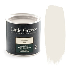Little Greene Absolute Matt Emulsion Wood Ash 229