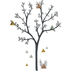 2017_FR/S1286_XL-arbre_SMIMG.jpgSticker xl arbre et triangles