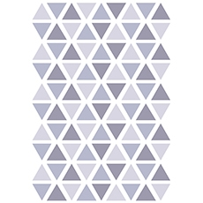 Stickers triangle coloris dsuty lavender
