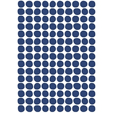Stickers pois coloris navy