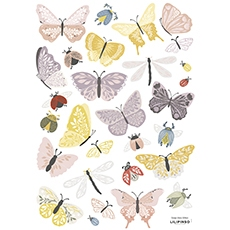 Stickers muraux animaux papillons et insectes