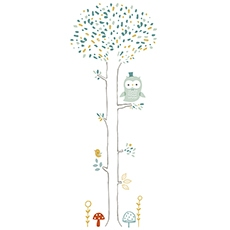 STICKER XL - ARBRE CHOUETTE