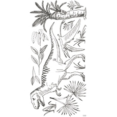 stickers tirex dino chambre enfant decoration lilipinso
